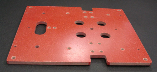Electrical Insulating Materials : Insulating board using gp for theater projection